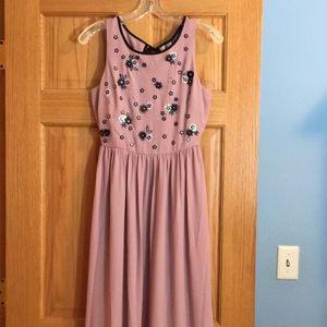 Lauren Conrad floor length dress